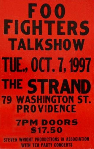Foo Fighters at The Strand | Image via RI Rocks