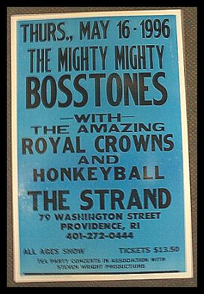The Mighty Mighty Bosstones at The Strand | Image via Flip Side Records