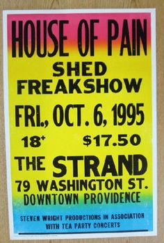 House of Pain at The Strand | Image via Pinterest