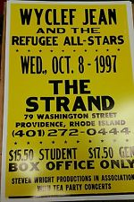 Wyclef Jean and the Refugee All-Stars at The Strand | Image via eBay